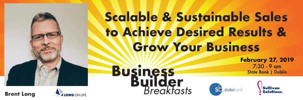 Business Builder Breakfast Brent Long