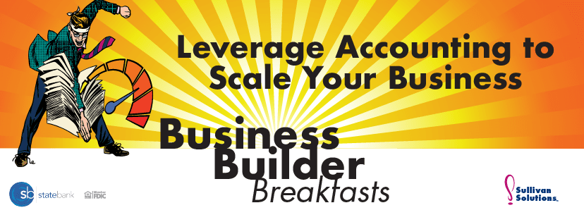 Leveraging your accounting with Kaiser Consulting. #buisnessbuilderbreakfasts #sullivansolutions #karensullivan #yourstatebank #columbusohio