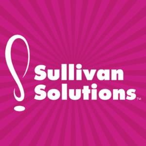 Sullivan Solutions Pink Starburst Square