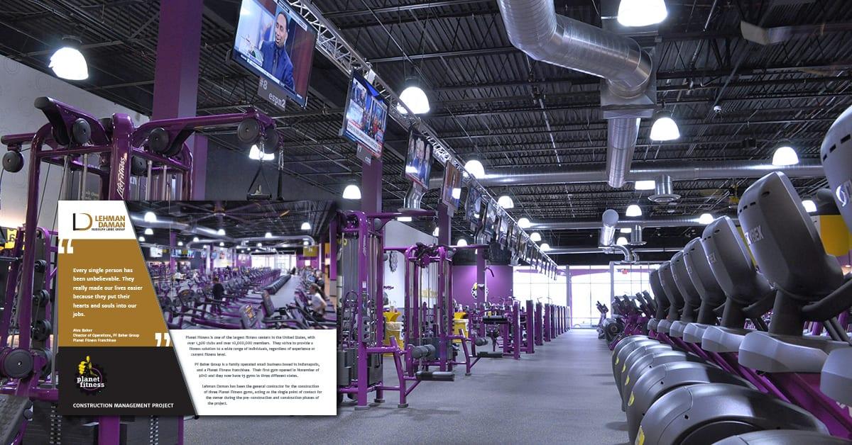 Lehman Daman work for Planet Fitness