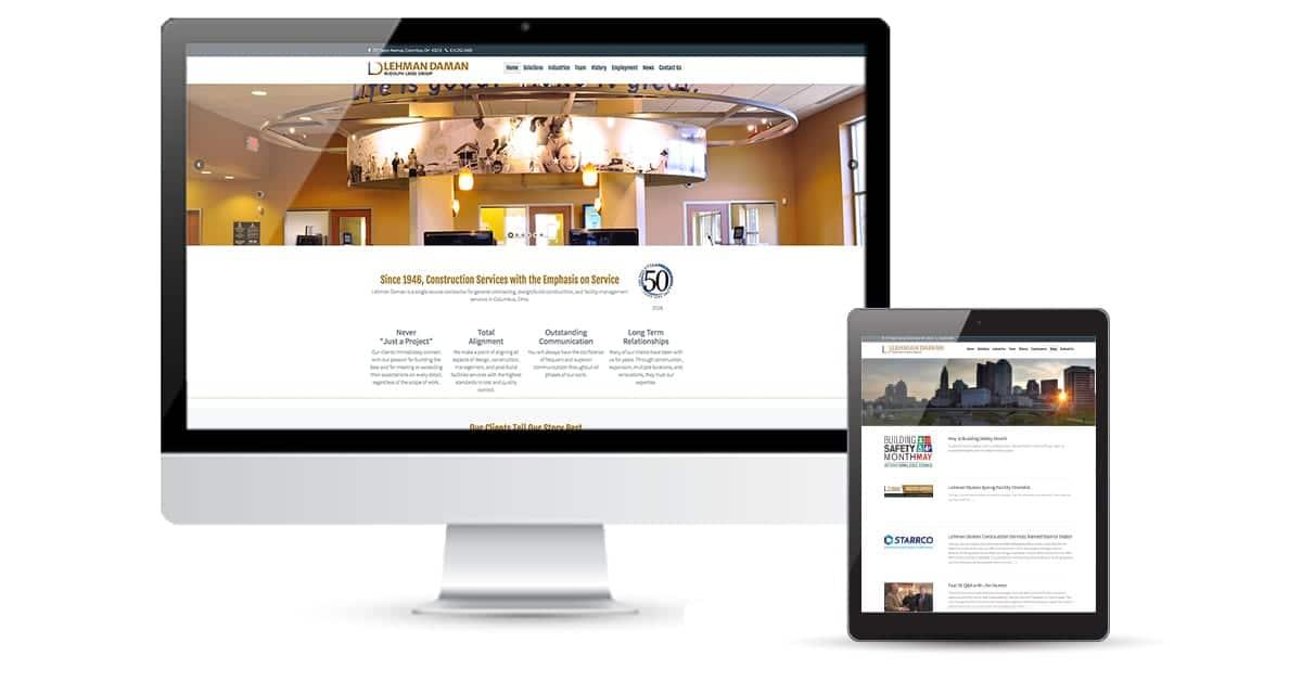 Lehman Daman Website Design